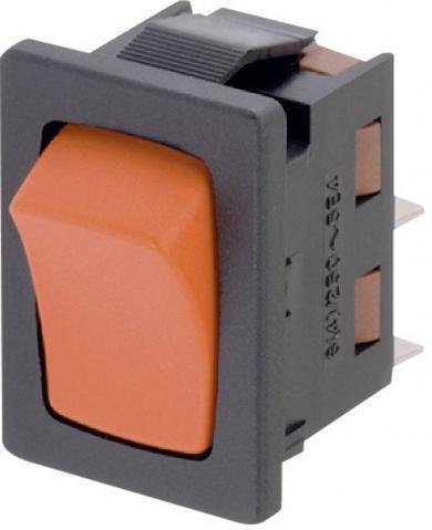 Întrerupător basculant Marquardt tip Rocker 1941.1203 1 x OFF/(ON)  250 V/AC 6 (2) A