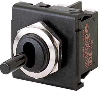 Întrerupător basculant, seria 1822.1101 2 x OFF/ON 250 V/AC 6 (4) A