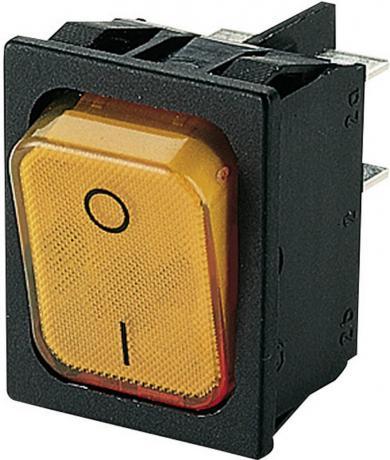 Întrerupător basculant Marquardt tip Rocker 1835.3114 2 x OFF/ON 250 V/AC 20 (4) A