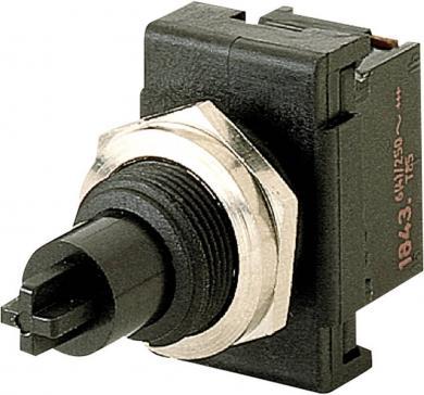 Întrerupător cu buton Marquardt 1841.6101, 1 x ON/OFF, 250 V/AC, 6 (4) A
