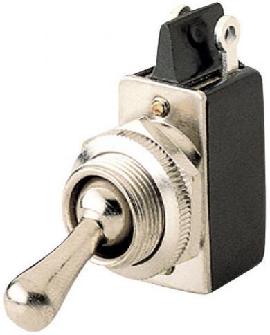 Întrerupător basculant, seria 0132.0601 2 x ON/OFF 250 V/AC 2 A