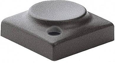 Capac buton Marquardt 829.000.021, capac buton, culoare gri închis, 15.5 x 15.5 mm, adecvat pentru seria 6425 cu led