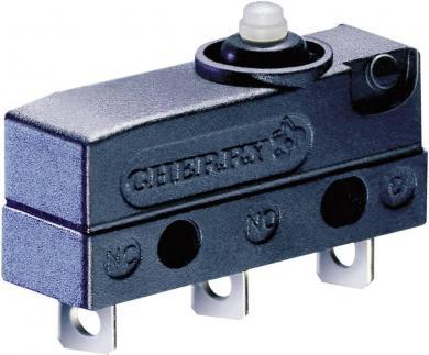 Întrerupător subminiatură DC Cherry, DC3C-A1AA 250 V/AC