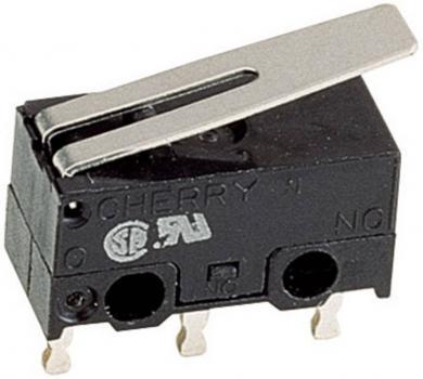 Întrerupător subminiatură DG Cherry, DG13-B1LA 125 V/AC