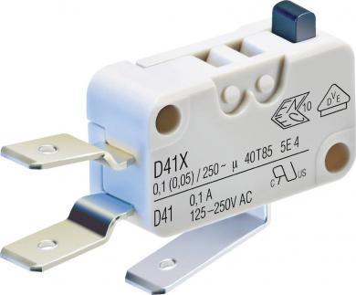 Întrerupător miniatură D4 Cherry, D419-V3AA 250 V/AC