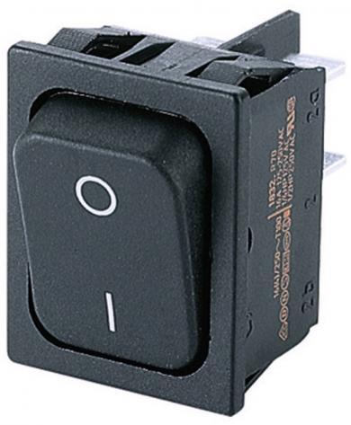 Întrerupător basculant Marquardt tip Rocker 1831.1102, 2 x OFF/ON, 250 V/AC, 10 (4) A