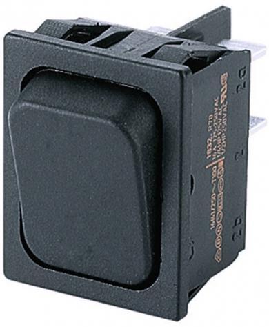 Întrerupător basculant Marquardt tip Rocker 1834.3302, 2 x ON/ON, 250 V/AC, 10 (4) A