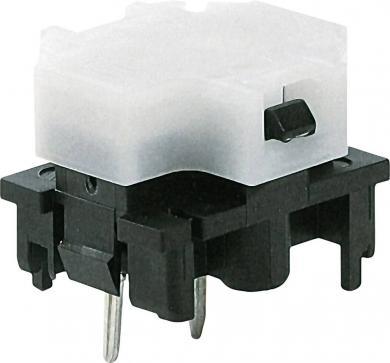 Corp de bază buton Marquardt 6425.3111, iluminare cu led roşu, 28 V, 100 mA, divizare 19 mm
