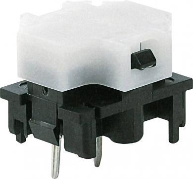 Corp de bază buton Marquardt 6425.3121, iluminare cu led galben, 28 V, 100 mA, divizare 19 mm