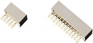 Conector multipunct mamă cu ochiuri de lipire adecvat pentru întrerupător codficare seria DPS10, 70 47 75/7