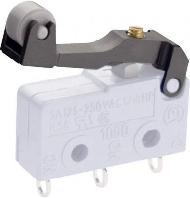 Manetă pentru microîntrerupător seria 1050, tip 190.072.013, manetă cu rolă reglabilă