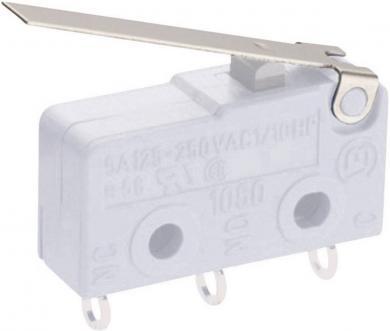 Manetă pentru microîntrerupător seria 1050, tip 191.071.021, manetă dreaptă (L02)