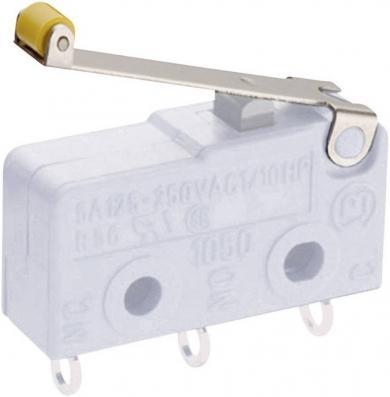 Manetă pentru microîntrerupător seria 1050, tip 191.078.013, manetă cu rolă (L11)