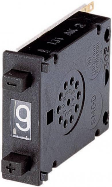 Placă de distanţare pentru întrerupătoare cu două butoane SMC-DE