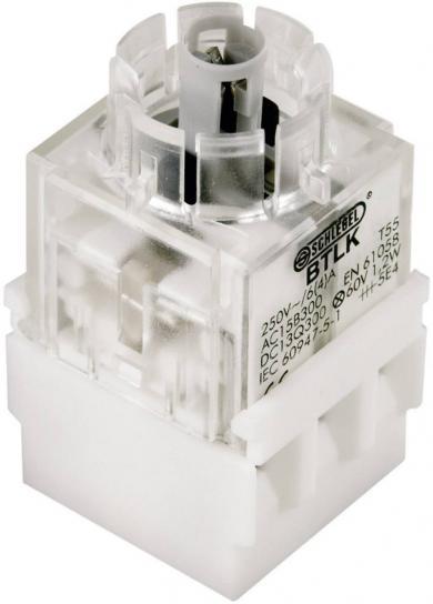 Contactor pentru RONTRON BTL5K, buton, 1 NO + 1 NC, conexiune prin terminale cu şurub