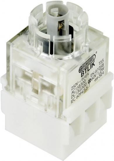 Contactor pentru RONTRON BTLI5K, buton, 2 NC, conexiune prin terminale cu şurub