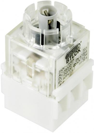 Contactor pentru RONTRON BTLO5K, buton, 2 NO, conexiune prin terminale cu şurub