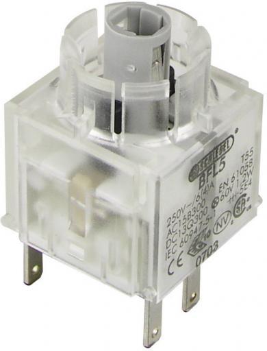 Contactor pentru RONTRON BFLO5, întrerupător, 1 NO + 1 NC, conexiune prin conector plat 2,8 x 0,8