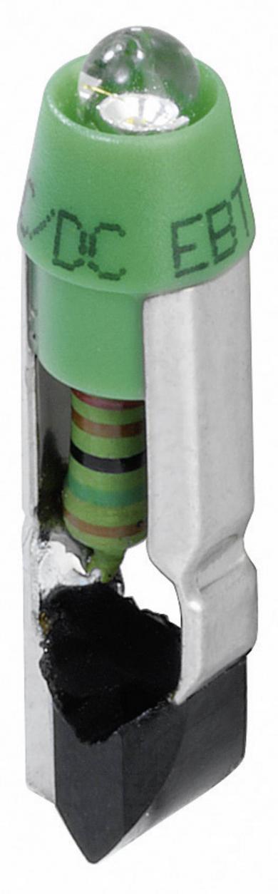 Diodă luminoasă pentru RONTRON L5,5K24UG, 24 V/DC, verde