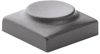 Capac buton Marquardt 826.000.061, capac buton fără marcaj, culoare gri închis, 15.5 x 31.5 mm, adecvat pentru seria 6425 fără led