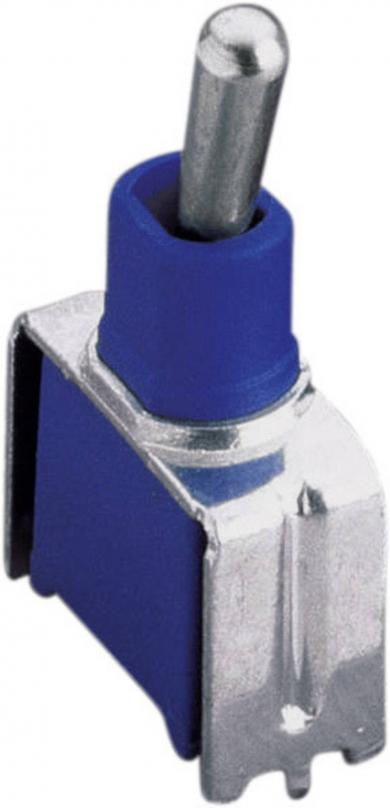 Întrerupător subminiatură Apem TL 36 YO 1 x ON/ON 48 V/DC 0,5 A