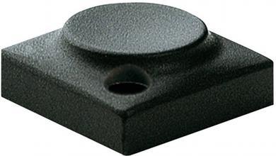Capac buton Marquardt 828.000.011, capac buton fără marcaj, culoare antracit, 18.3 x 18.3 mm, adecvat pentru seria 6425 cu led