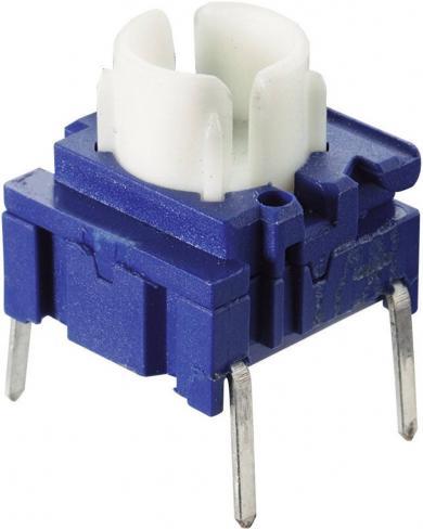 Buton miniatură Multimec 3FSH9 SMD 1 x OFF/(ON) 25 V/DC 50 mA