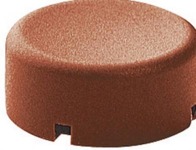 Capac buton Marquardt 840.000.071, capac buton rotund, culoare roşu, 17 x 13.2 mm, adecvat pentru seria 6425 fără led