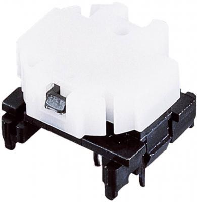 Corp de bază buton Marquardt 6425.0101, fără iluminare, 28 V, 100 mA, divizare ≥ 16 mm