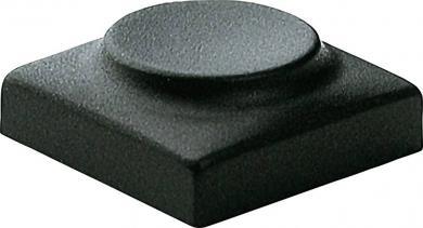 Capac buton Marquardt 826.000.011, capac buton fără marcaj, culoare antracit, 15.5 x 15.5 mm, adecvat pentru seria 6425 fără led