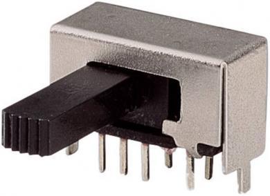 Întrerupător glisant 2 x ON/ON/ON 50 V 0,3 A