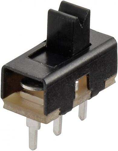 Întrerupător glisant miniatură 1 x ON/ON 50 V 0,5 A