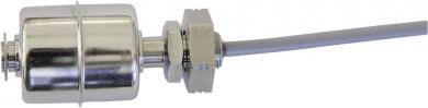 Întrerupător cu flotor tip R1/8-EO/S-L45-E27Z-1mPVC, contact NC, funcţie inversare, IP68, 230 V/AC / 10 W, material V4A, Ø 27 mm
