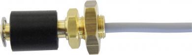 Întrerupător cu flotor tip R1/8-MO/S-L30-BU16-1mPVC, contact NC, funcţie inversare, IP68, 230 V/AC / 10 W, material alamă, Ø 16 mm