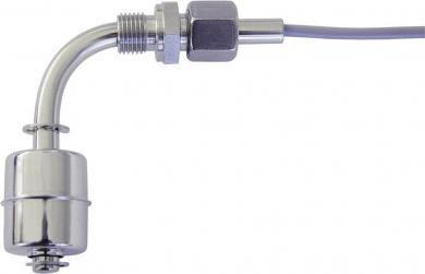 Întrerupător cu flotor tip SER1/4/verst.-EO/S-L75/WI35-E27Z-1mPVC, IP68, 230 V/AC / 10 W, material V4A