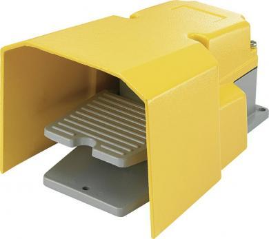Întrerupător de picior FS-502, 250 V/AC / 15 A, conexiune prin terminale, 205 x 148 x 124 mm