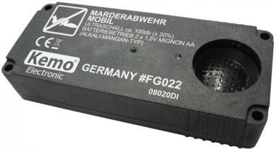 Aparat portabil anti-jderi 55 m², Kemo FG022
