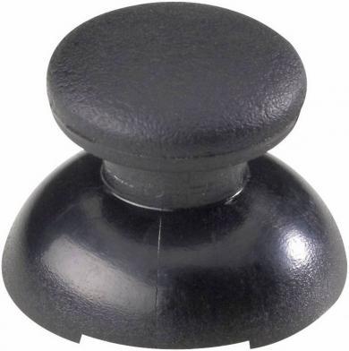 Buton soft-touch pentru joystick, negru