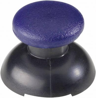 Buton soft-touch pentru joystick, albastru