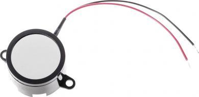 Buzer miniatură tip AL-28SW01-PT, 70 dB, 5 mA, 1-3 V/DC, tip sunet pulsatil