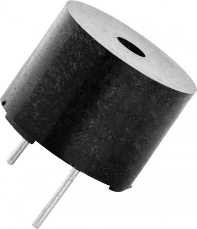Traductor de sunet piezoelectric AL-60SP01, cu generator, 80 dB, 2300 Hz, consum curent < 20 mA, 1.3 - 2 V/DC