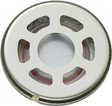 Difuzor miniatură Kepo, seria KP, 90 dB ± 3 dB, 8 Ω, 0,5 W, 900 Hz ± 20 %, Ø coş 18 mm