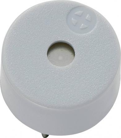 Buzzer electromagnetic Kepo, seria KPX, 85 dB, 12 V/DC, 30 mA, 3,1 ± 0,5 kHz