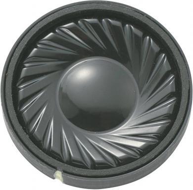 Difuzor miniatură Kepo, seria KP, 91 dB ± 3 dB, 8 Ω, 0,5 W, 330 Hz ± 20 %