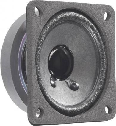 Difuzor de bandă largă 6,5 cm, tip FRS 7, 88 dB, 250 Hz, 8 W