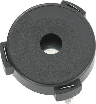 Traductor de sunet piezo KPT-G3039-6246, fără generator, 2 pini, 106 dB, 13 mA, 12 V/AC