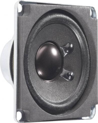 Difuzor de bandă largă 5 cm, ecranat magnetic, tip FRWS 5 SC, 80 dB, 350 Hz, 4 W