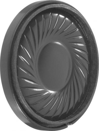 Difuzor miniatură 3,6 cm, tip K 36 WP - 50 Ω, 77 dB, 550 Hz, 1 W