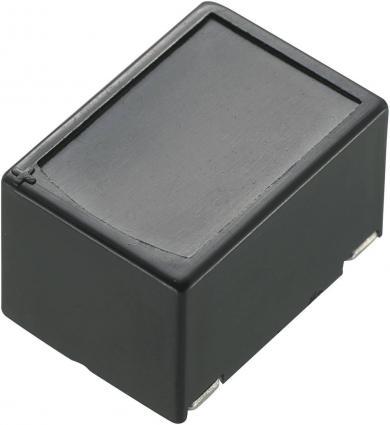 Buzer miniatură tip SH1764, 75 dB, 30 mA, 15-27 V/DC, decupaj rotund, culoare negru