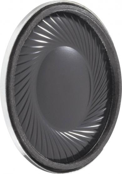 Difuzor miniatură 2,8 cm, tip K 28 WP - 8 Ω, 75 dB, 500 Hz, 1 W
